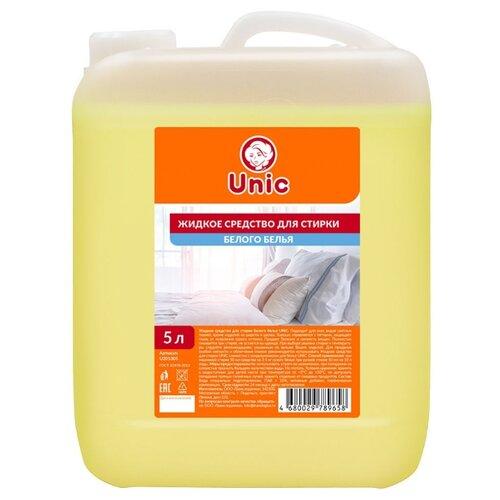 Жидкость Unic для белого белья, 5 л, бутылка