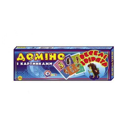 Настольная игра ТехноК Веселые зверята набор книжек малышек eva веселые зверята комплект из 4 книг