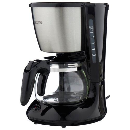Кофеварка Philips HD7434 Daily Collection черный/металликКофеварки и кофемашины<br>