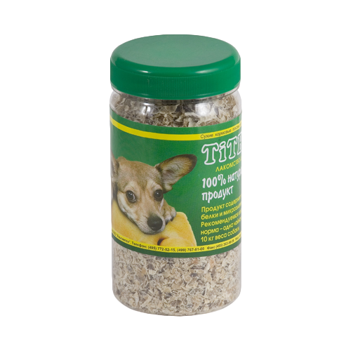 Лакомство для собак Titbit Рубец говяжий молотый, 150 г