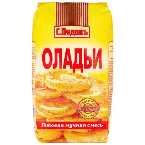 С.Пудовъ Мучная смесь Оладьи, 0.5 кг бейкервилль смесь мучная оладьи