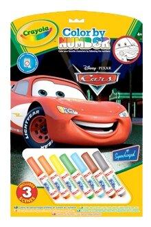 Crayola Раскраска по номерам Тачки (55521)