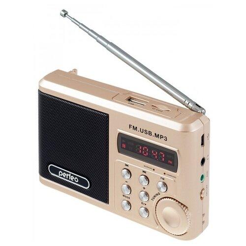 Фото - Радиоприемник Perfeo Sound Ranger SV922 золотистый радиоприёмник perfeo sound ranger black