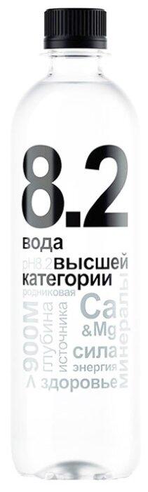 Вода родниковая 8.2 негазированная, ПЭТ