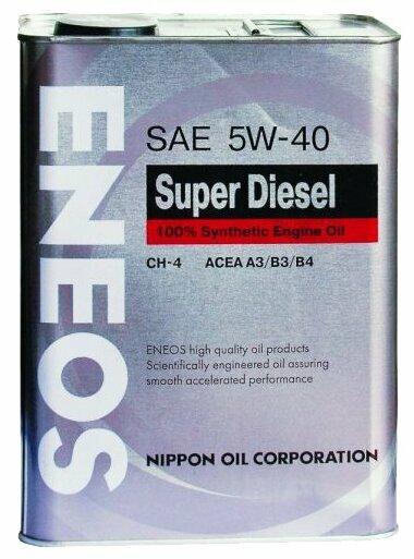 Моторное масло ENEOS Premium Diesel 5W-40 4л