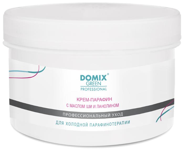 Купить Крем-парафин Domix Green Professional с маслом ши и ланолином 500 мл по низкой цене с доставкой из Яндекс.Маркета