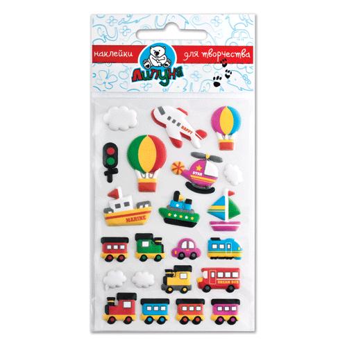 Липуня Набор наклеек Зефирные игрушки (EMM003)