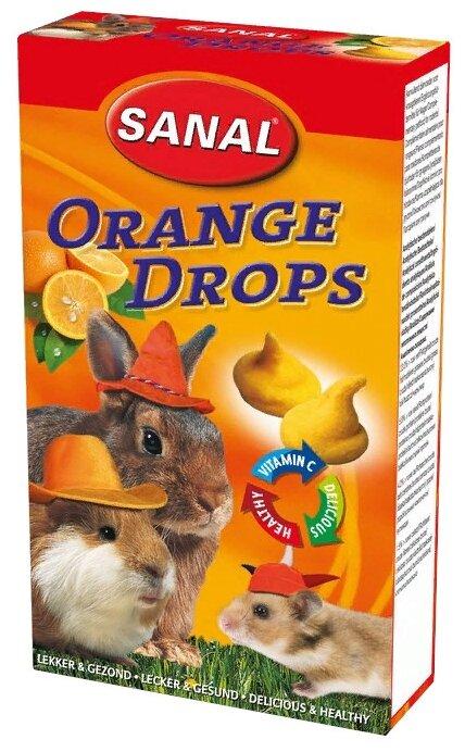 Лакомство для кроликов, грызунов SANAL Orange Drops