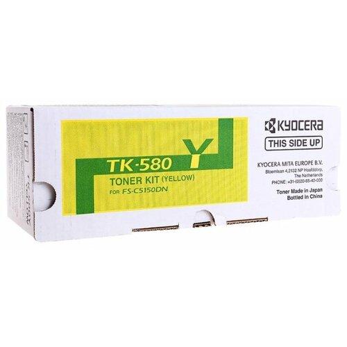 Картридж KYOCERA TK-580Y  - купить со скидкой
