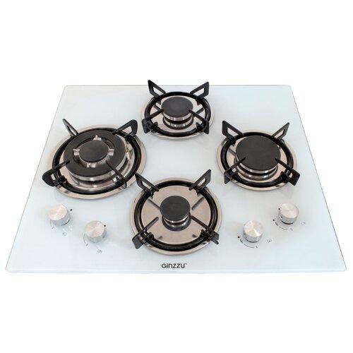 Газовая варочная панель Ginzzu HCG-441 white