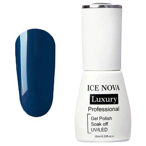 Купить Гель-лак для ногтей ICE NOVA Luxury Professional, 10 мл, 100 dark orchid