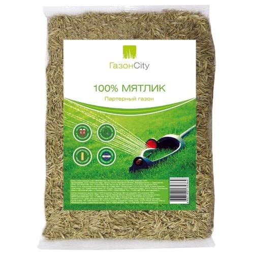 Семена для газона ГазонCity Мятлик 100% Партерный газон, 0.3 кг смесь семян газонcity настоящий солнечный газон 1 кг