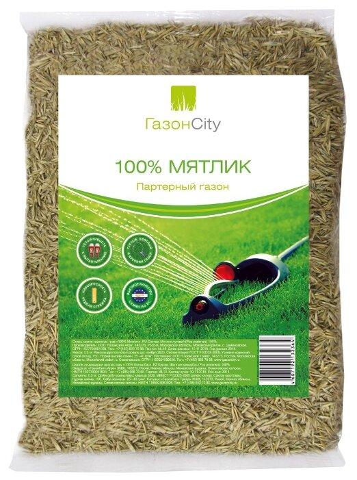 ГазонCity Семена газонной травы Мятлик 100% 300 гр