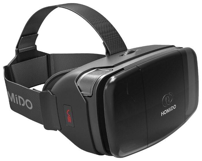 Очки виртуальной реальности HOMIDO V2 Black