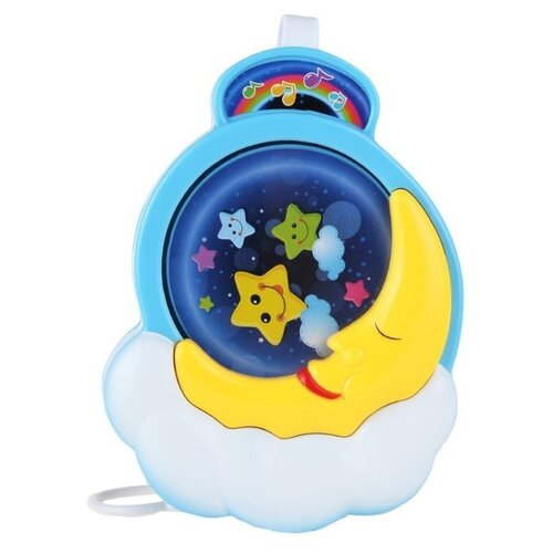 цена на Подвесная игрушка S+S Toys Лунная ночь (EQ80451R) синий