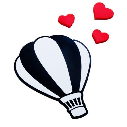 Наклейка на выключатель DS Studio Воздушный шар, объемные наклейка
