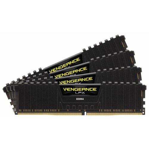Купить Оперативная память Corsair DDR4 3600 (PC 28800) DIMM 288 pin, 16 ГБ 4 шт. 1.35 В, CL 18, CMK64GX4M4B3600C18