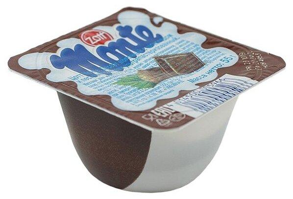 Десерт Monte Молочный с шоколадом и лесными орехами 13.3%, 55 г