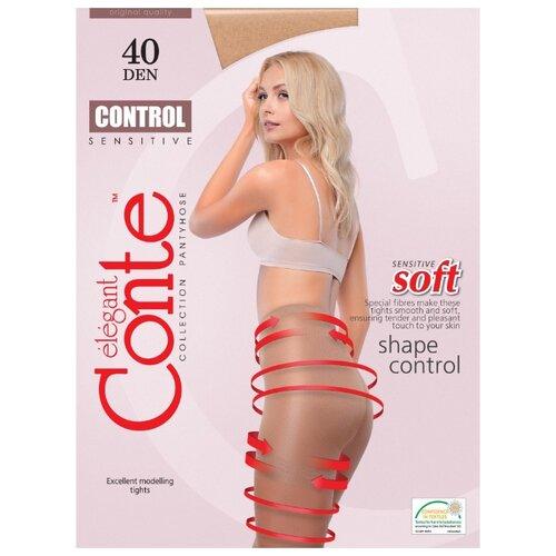 Фото - Колготки Conte Elegant Control 40 den, размер 3, natural (бежевый) колготки conte elegant active soft 40 den размер 3 natural бежевый