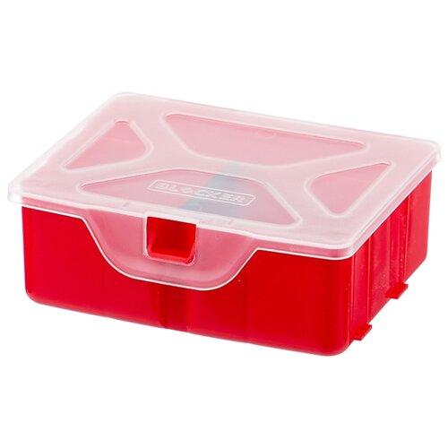 Фото - Органайзер BLOCKER Master BR3768 11x9.7x4.2 см 4.5'' красный органайзер blocker ромб br4003 20x20x4 5 см 8 красный