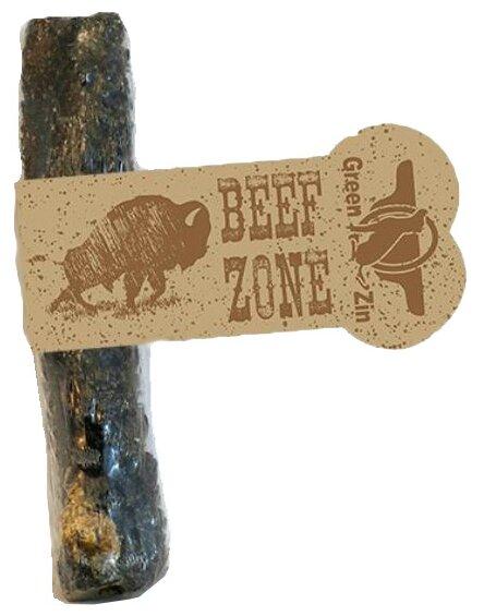 "Лакомство для собак Green Qzin Beef Zone, говяжий рубец 6"""