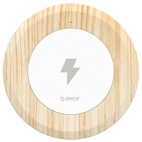 Купить Беспроводная сетевая зарядка ORICO WOC1 белый с окраской под дерево