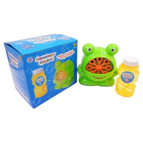 Мыльные пузыри Мерцающие пузырики в наборе, 120 мл, S-00149 желтый/зеленый застывающие пузыри stack a bubble 22 мл в ассортименте 269457