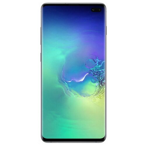 Смартфон Samsung Galaxy S10+ 8/128GB аквамарин (SM-G975FZGDSER) смартфон samsung galaxy s10e 128gb аквамарин