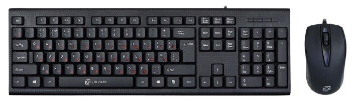Клавиатура и мышь Oklick 630M Black USB
