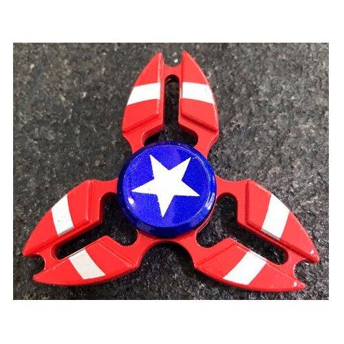 Спиннер Металлический Капитан Америка V2