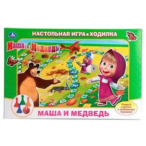Настольная игра Умка Маша и Медведь. Учимся считать настольная игра умка маша и медведь викторина 500 вопросов