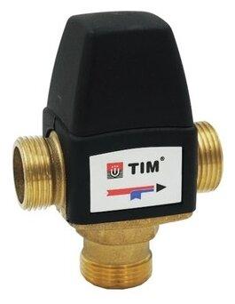 Трехходовой смесительный клапан термостатический Tim BL3110C02 муфтовый (НР), Ду 15 (1/2