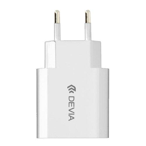 Купить Сетевая зарядка Devia Smart Charger High-Speed белый