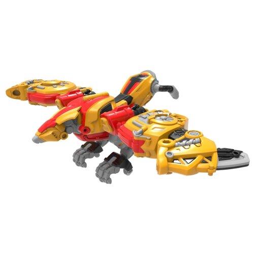 Купить Трансформер YOUNG TOYS Metalions Argentavis Mini желтый/красный, Роботы и трансформеры