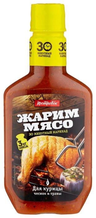 Маринад Костровок Для курицы с чесноком и травами, 300 г