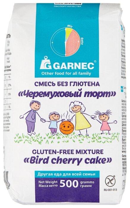 Гарнец Смесь Черемуховый торт без глютена, 0.5 кг