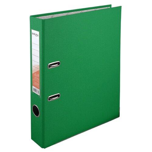 Купить Delta by Axent Папка-регистратор A4 с односторонним покрытием, 5cм зеленый, Файлы и папки