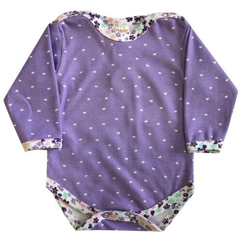 Боди KotMarKot размер 62, фиолетовыйБоди<br>
