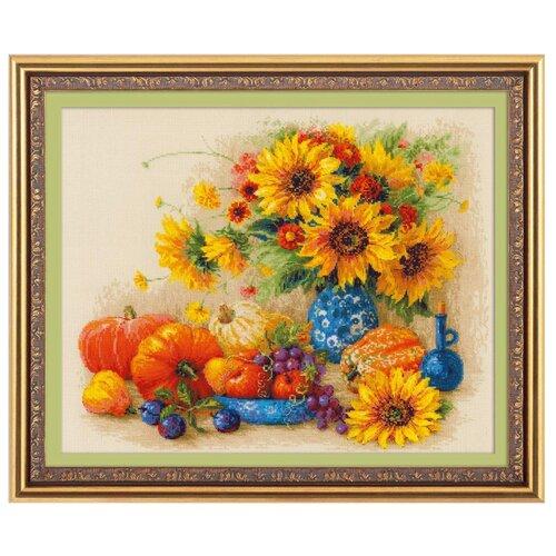 Купить Риолис Набор для вышивания Premium Солнечный день 50 х 40 см (100/057), Наборы для вышивания
