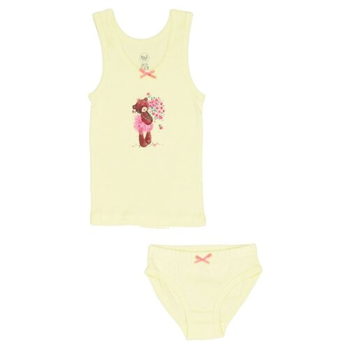 Купить Комплект нижнего белья RuZ Kids размер 140-146, желтый, Белье и купальники