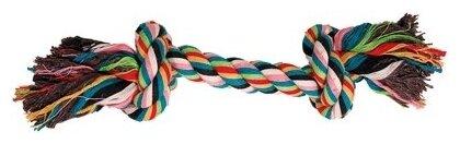 Канат для собак Triol веревка, 2 узла 20 см 12111001
