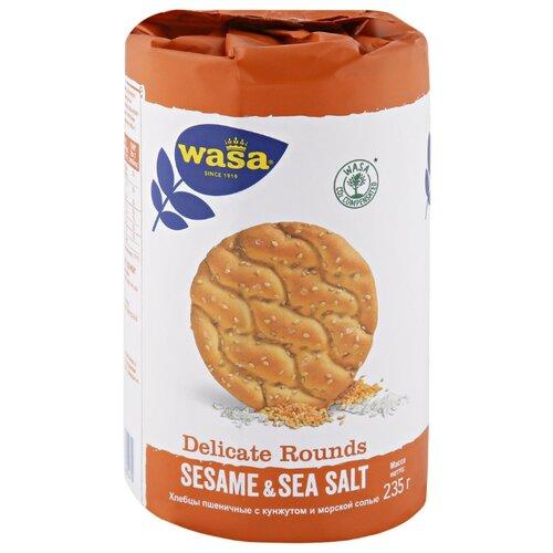 Хлебцы пшеничные Wasa с кунжутом и морской солью 235 гр