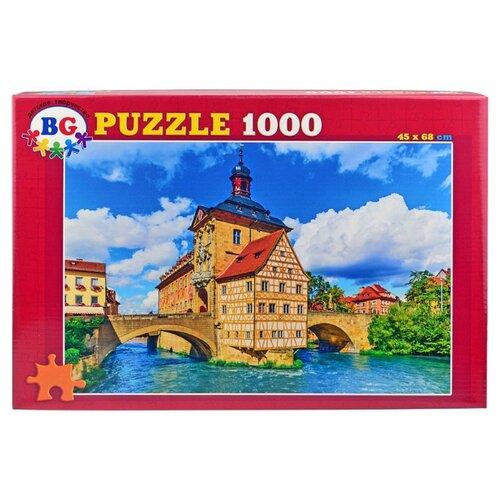 Купить Пазл BG Замок с мостами (Пз1000_2940), 1000 дет., Пазлы