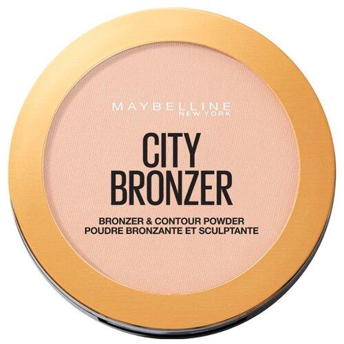 Maybelline New York Face Studio бронзирующая пудра City Bronzer 150 теплый бронзовый фото