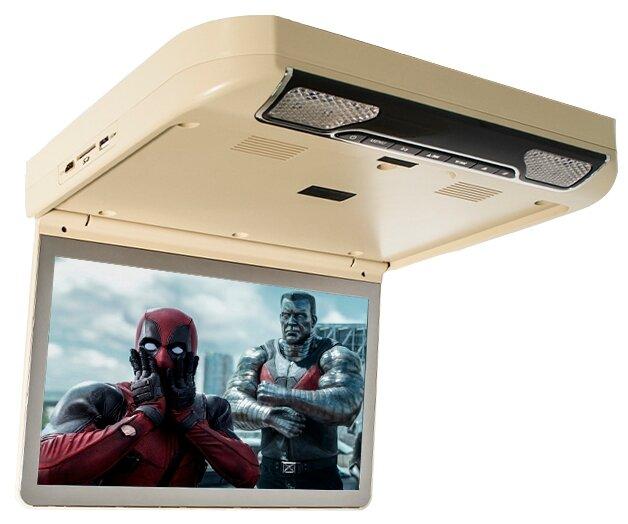 Потолочный автомобильный монитор Avis AVS2220MPP (серый) - Телевизор, монитор в машину