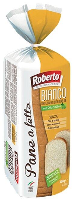 Roberto Хлеб Pane a fette Bianco пшеничный тостовый в нарезке 400 г