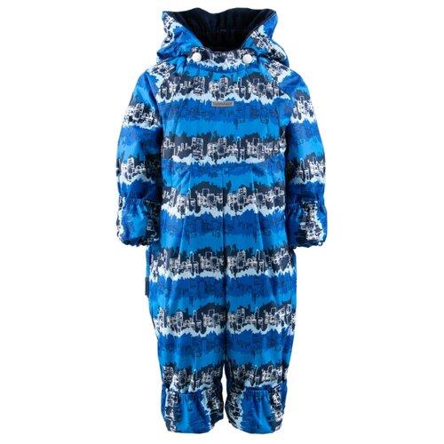 Купить Комбинезон KERRY HAPPY K19003 размер 68, 2290 голубой/синий, Теплые комбинезоны