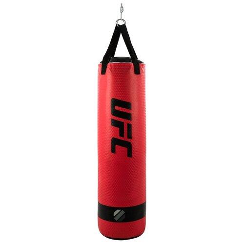 Мешок боксёрский UFC боксерский 36 кг красный груша ufc кожаная скоростная 9х6 красный черный