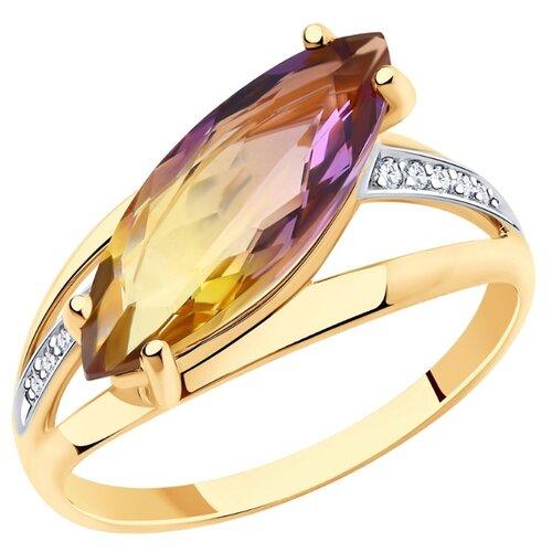 SOKOLOV Кольцо из золота 715917, размер 17.5