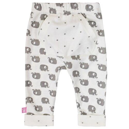 Купить Брюки KotMarKot Слоненок Тим 5310578 размер 62, молочный, Брюки и шорты